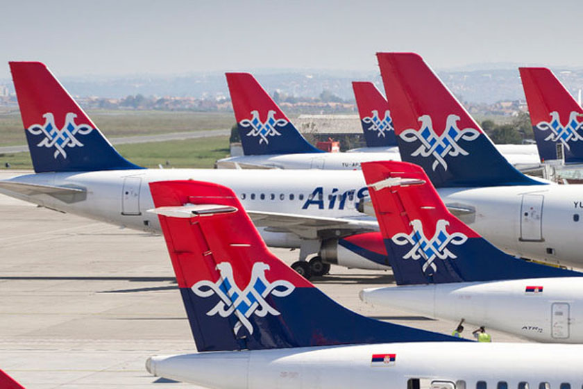 er srbija, air serbia, letovi za italiju