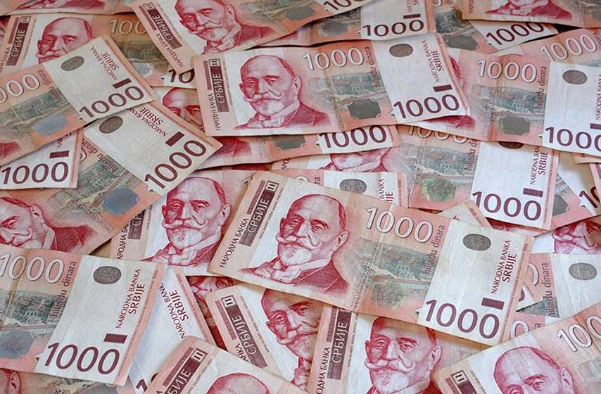 prosecna neto plata u srbiji