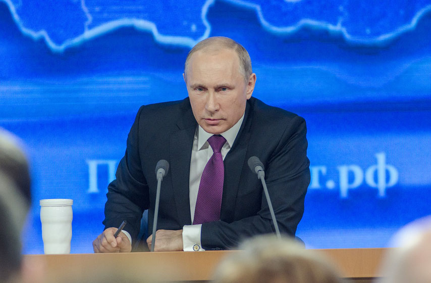 Vladimir Putin, Putin, samit UN