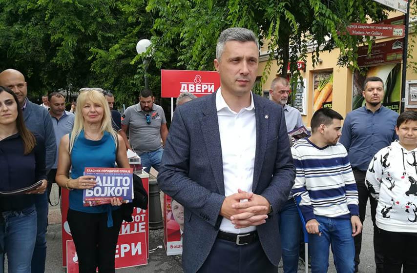 Boško Obradović, Dveri, Pančevo, politika, najnovije vesti, izbori 2020
