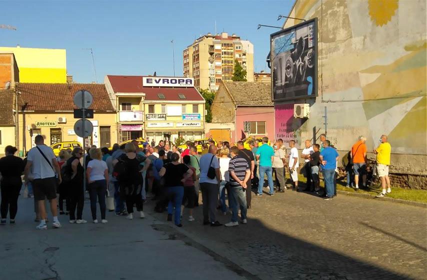 ATP Pančevo, radnici, blokada autobuske stanice, protest