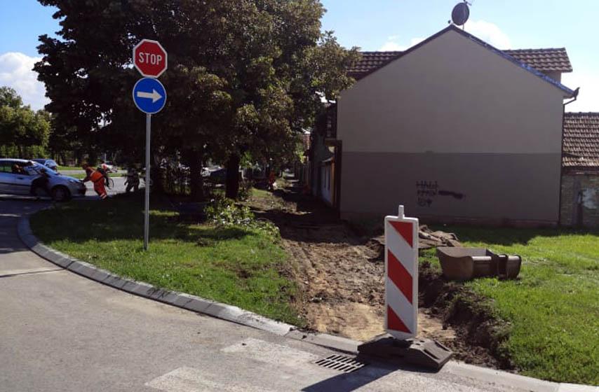 Prvomajska ulica, pančevo, rekonstrukcija