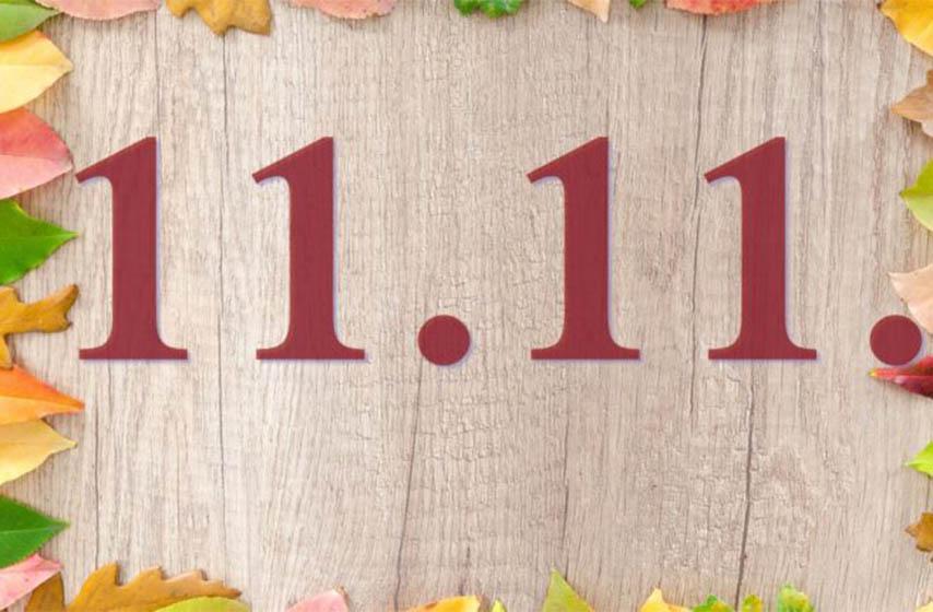 11.11., datum