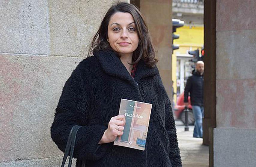 Ana Vučković, roman Yugoslav, dvorana Apolo, promocija romana, gde izaći
