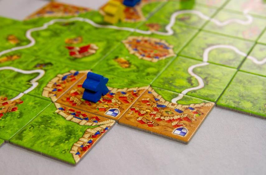 društvene igre, Klub d20, Carcassonne