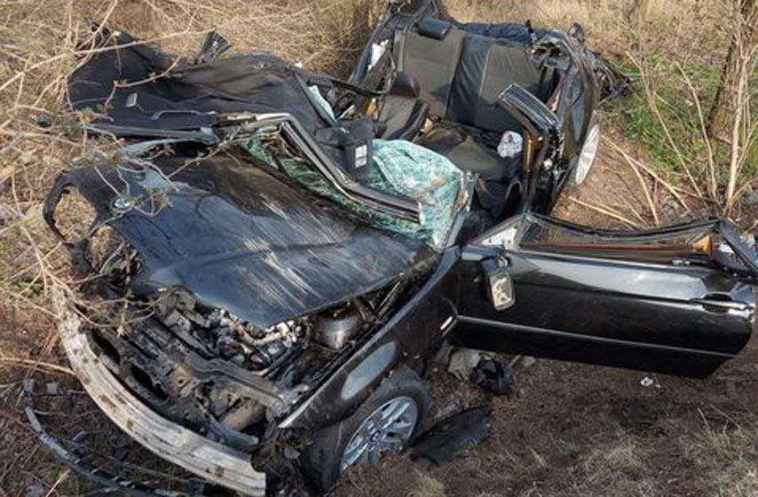 saobracajna nesreca, vozilo sletelo s puta