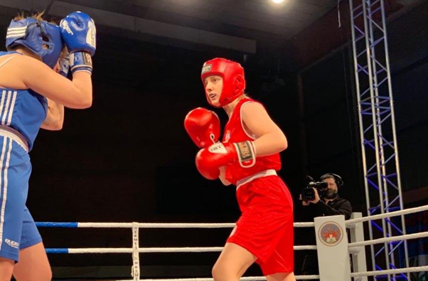 boks, sport, zenski boks