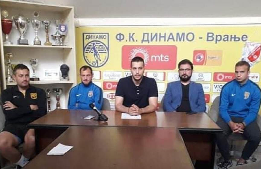 dinamo vranje, fudbal