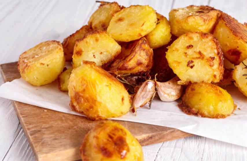 kropir, beli luk, krompir sa belim lukom