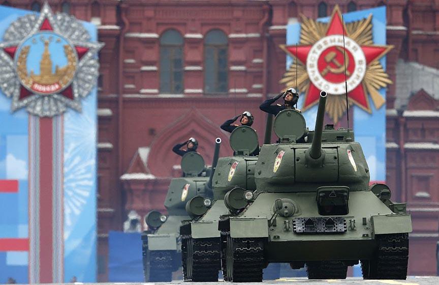 vojna parada moskva, snimak vojne parade u moskvi