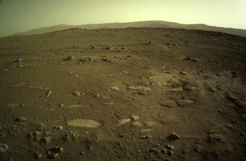 rover istrajnost, mars