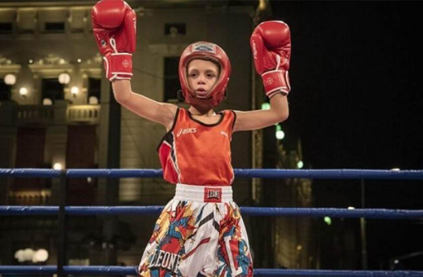 boks, boks za decu