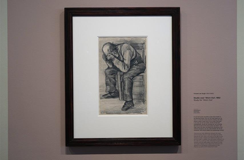 skicai van goga, holandski muzej