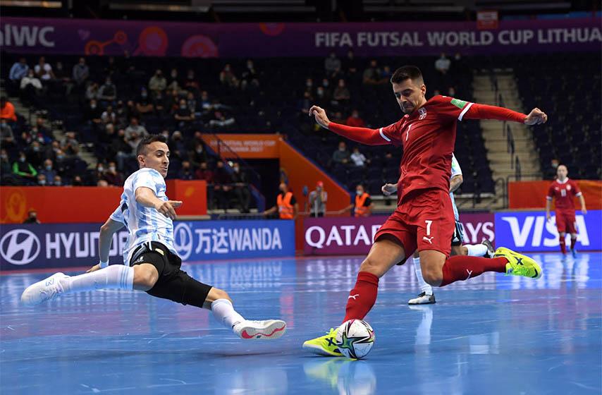 futsal reprezentacija srbije, svetsko prvenstvo u litvaniji, srbija argentina