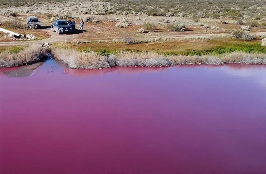 jeyero argentina, ruzicasto jezero, jezera u argentini
