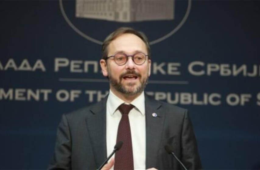 emanuel zofre, ambasador evropske unije u srbiji