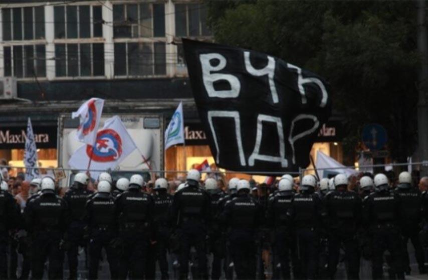 antiglobalsti, protest, beograd