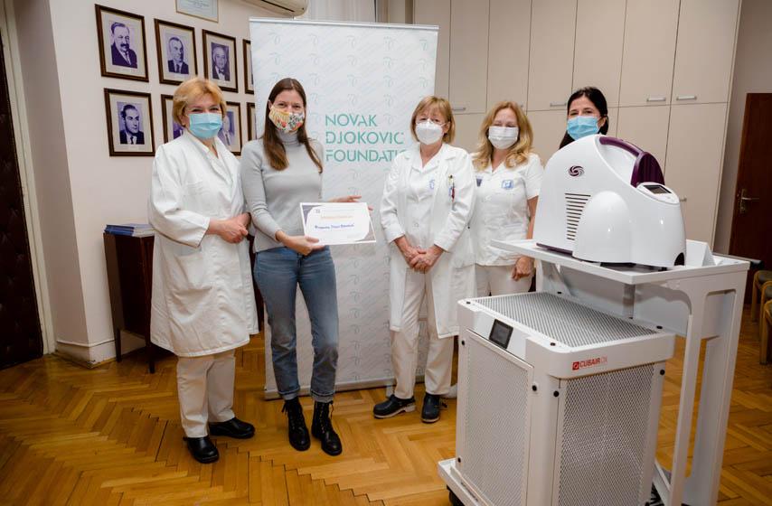 fondacija novak djokovic, institut za onkologiju i radiologiju