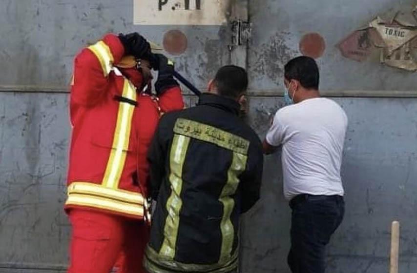 Bejrut eksplozija, snimci, vatrogasci