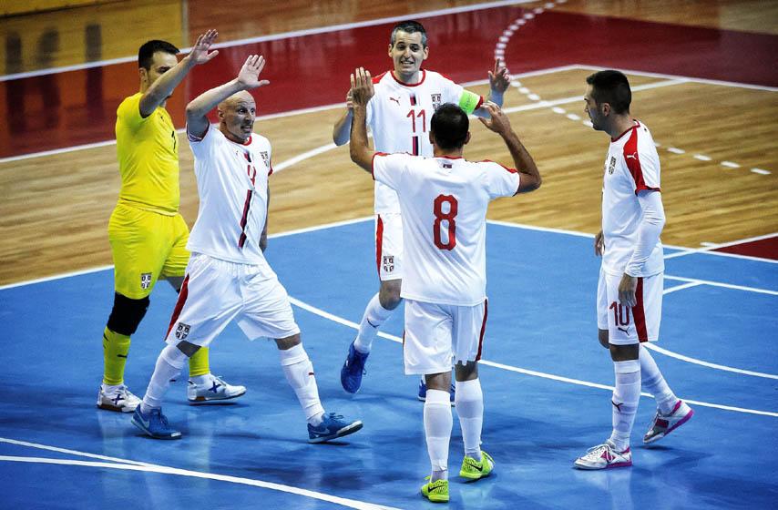 futsal, reprezentacija srbije, sport