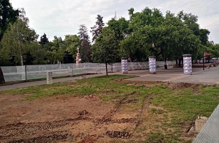 Srpska kraljevska omladina Pančevo, seča drveća u parku, pancevo, najnovije vesti, protest