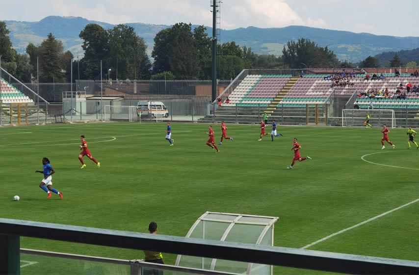 fudbal u20, kastel di sangro, srbija italija