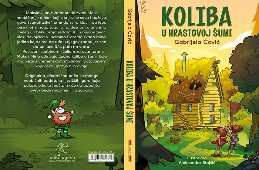 gabrijela covic, koliba u hrastovoj sumi, knjiga za decu
