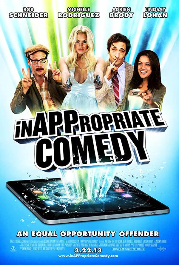 Nepristojna komedija, InAPPropriate Comedy (2013), film, filmska preporuka, tv program srbija