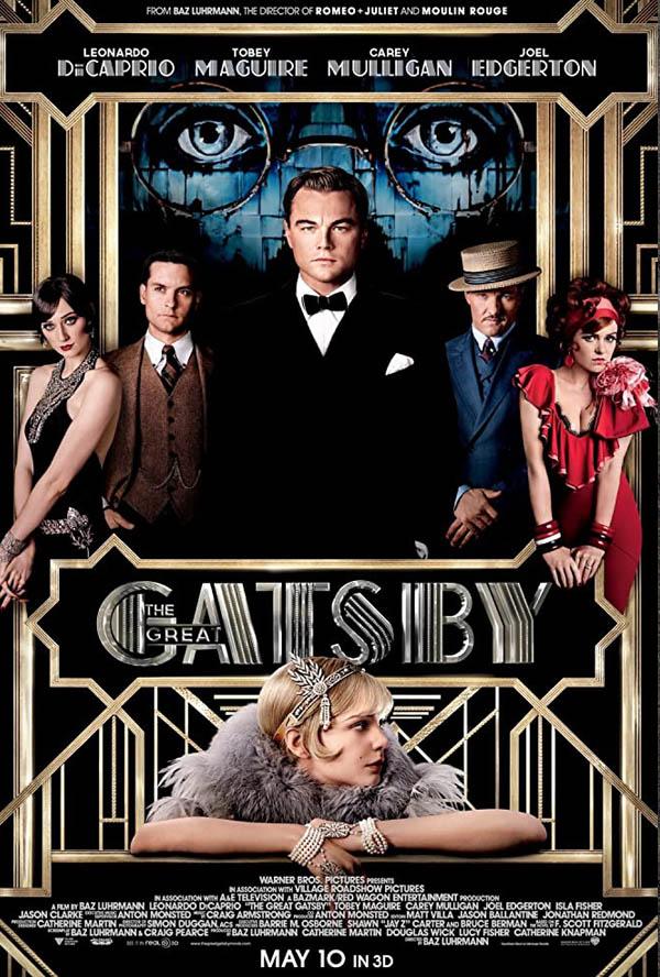 Veliki Getsbi, The Great Gatsby (2013), film, filmska preporuka, tv program srbija