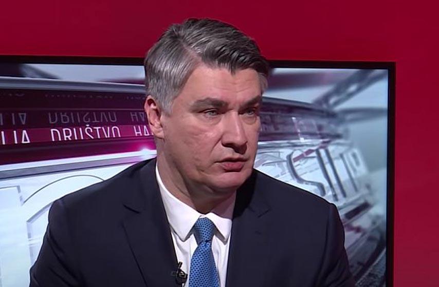 Zoran Milanovic, predsednik hrvatske