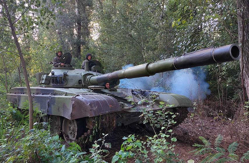 vojska srbije, obuka tenkista