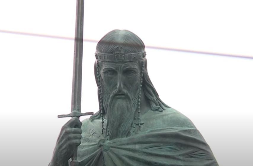 spomenik stefanu nemanji, obezbedjenje spomenika, spomenik