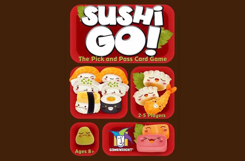 drustvene igre, klub d20, drustvena igra sushi go