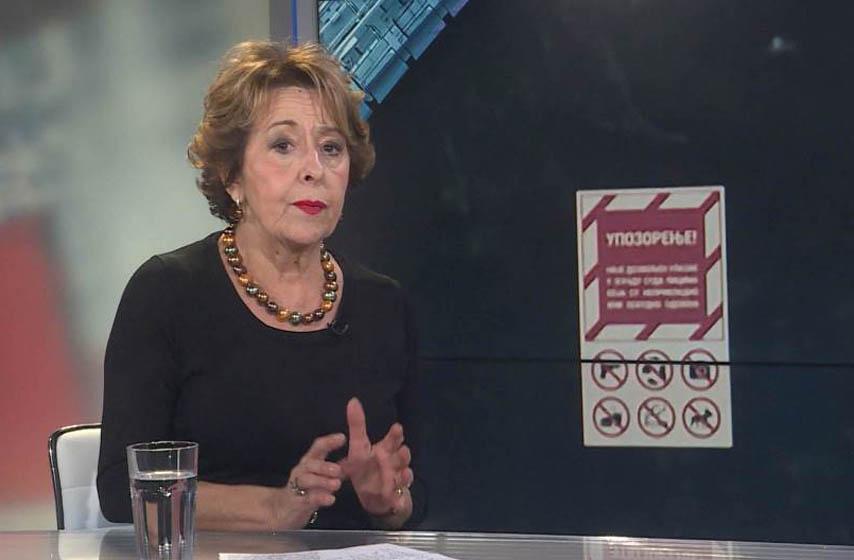 Svetlana Bojković, protest, protest studenata, Filološki fakultet