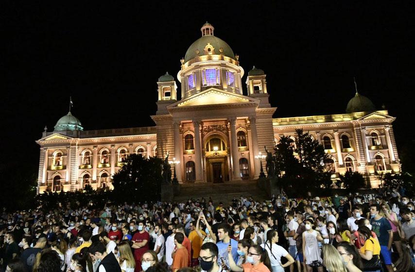 studenti protestuju u Beogradu, studentski protesti zbog
