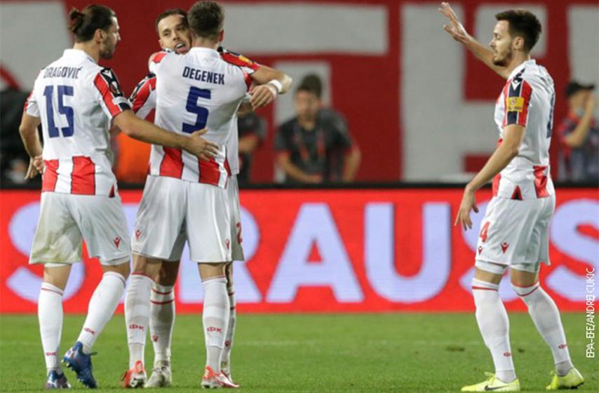 crvena zvezda, fudbal, liga evrope, zvezda braga