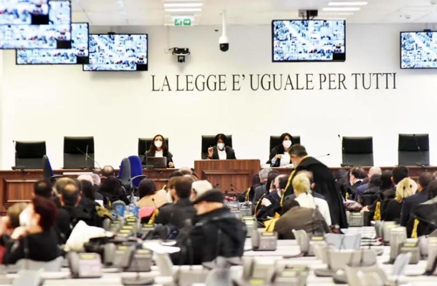 sudjenje mafiji u italiji