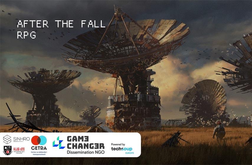 projekat game charger, sinhro hub, klub d20, centar za edukaciju i transparentnost, drustvena igra