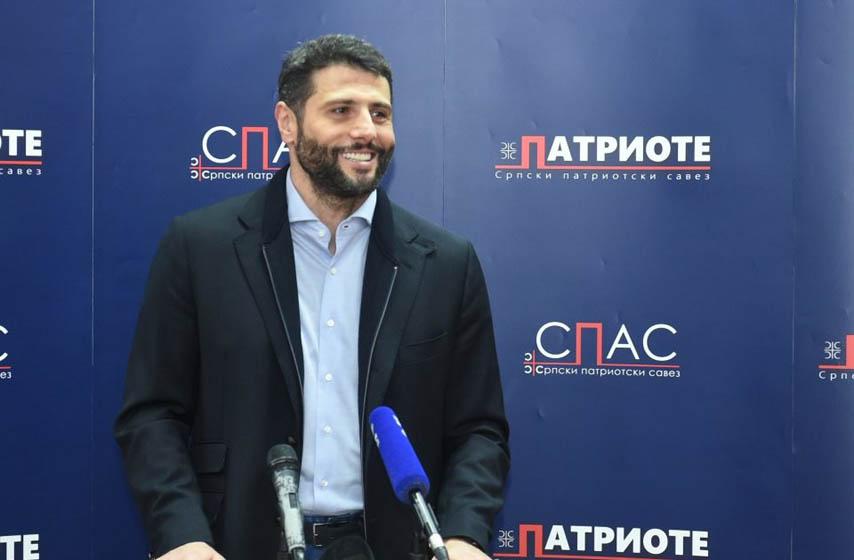 aleksandar, sapic, aleksandar sapic, spas, patriote, politika, parlamentarni izbori, izbori 2020, najnovije vesti
