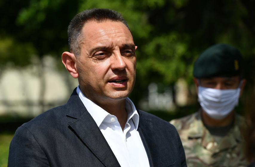 Aleksandar Vulin, Vulin, Vojni sindikat Srbije