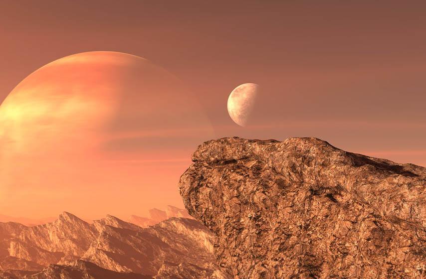 Venera, planeta, gas