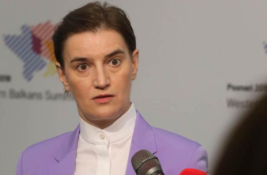ana brnabic, evrointegracije srbije, sloboda medija u srbiji