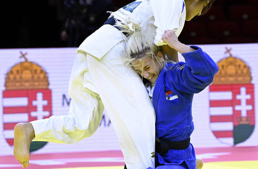 andrea stojadinov, andrea stojadinov judo