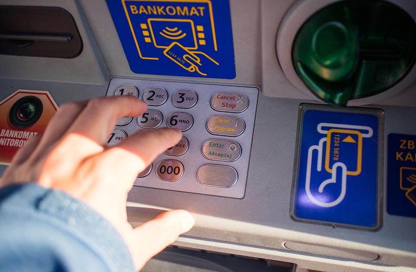 bankomat, kartice za bankomat