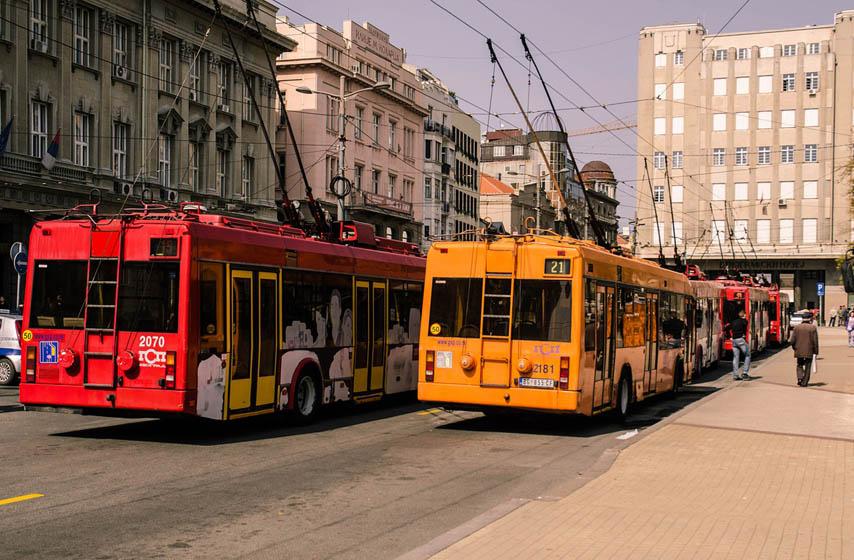 ozoniranje autobusa, beograd