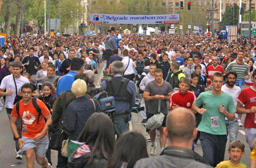 Otkazan 33. Beogradski maraton