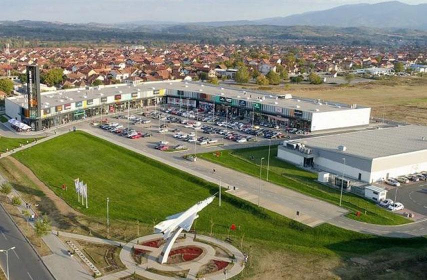 big shopping centers