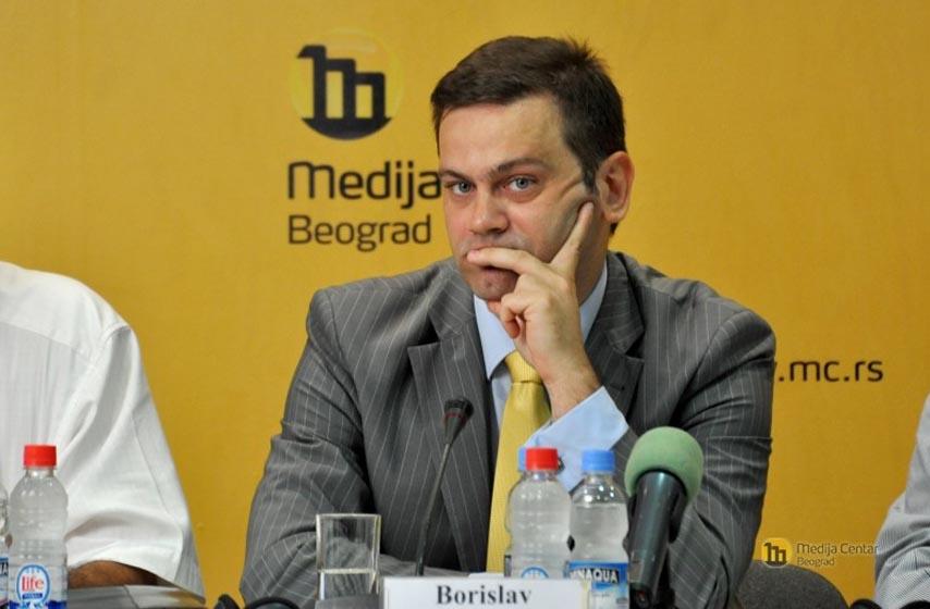Borislav Stefanović, Stefanović, Moravski koridor, ugovor