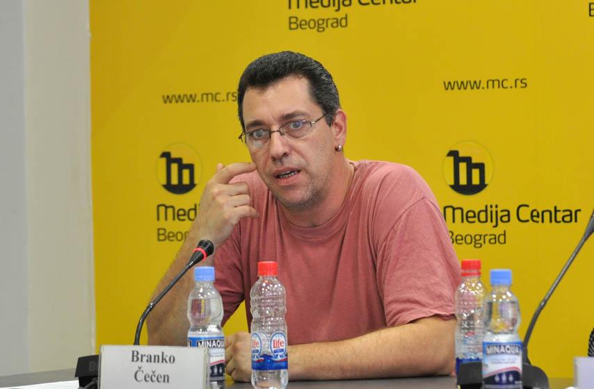 Branko Cecen, CINS, borba protiv korupcije i organizovanog kriminala