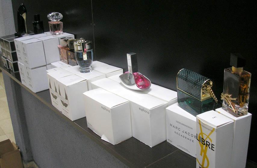 carina, gradina, carinski prekršaj, parfemi